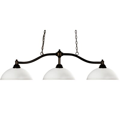 Chance 3 Light Billiard Pendant