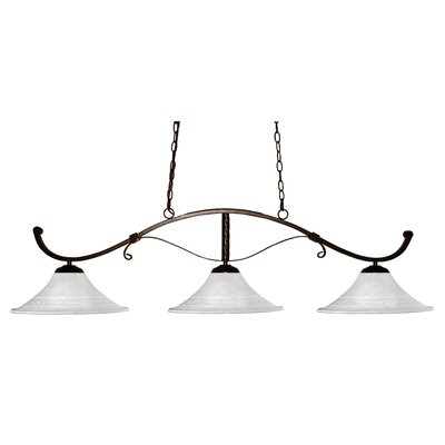 Howler 3 Light Billiard Pendant