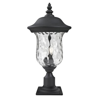 "Z-Lite Armstrong 2 Light 15.79"" Outdoor Post Lantern"