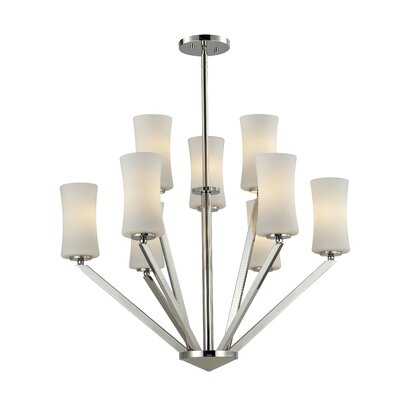 Z-Lite Elite 9 Light Chandelier