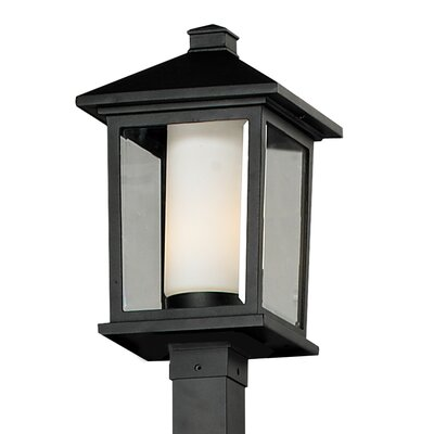 Z-Lite Mesa 1 Light Outdoor Post Lantern Set