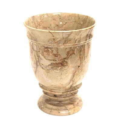 Nature Home Decor Marble Waste Basket