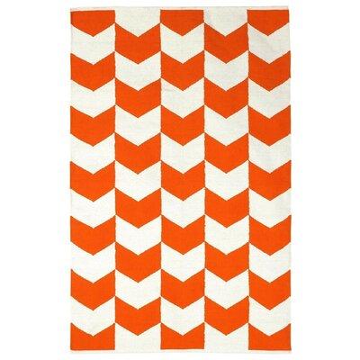 Fab Rugs Metro Orange Peel Cotton Metropolitan Rug