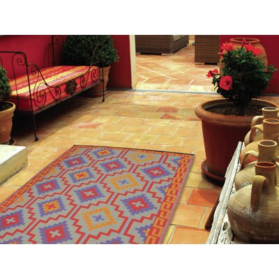 Fab Rugs World Lhasa Orange/Violet Rug