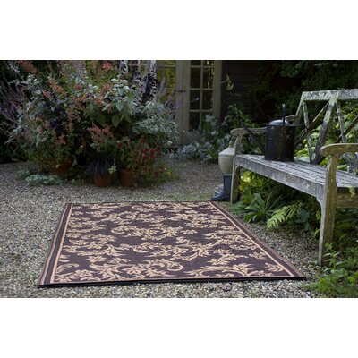 Fab Rugs World Versailles Chocolate Brown/Tan Rug