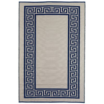 World Athens Midnight Blue/Cream Rug