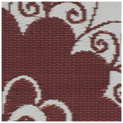 Fab Rugs World Maui Cranberry Red/Cream Rug