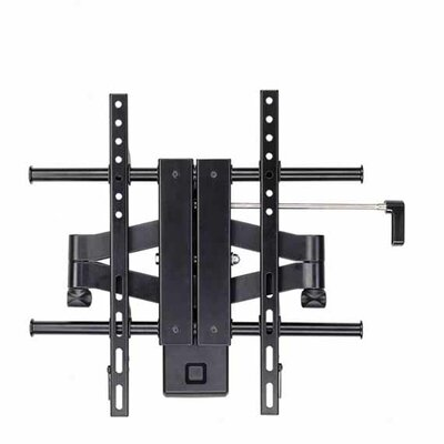"Ready Set Mount Articulating LCD Wall Mount for 26"" to 52"" Screens in Hi-Gloss Black"