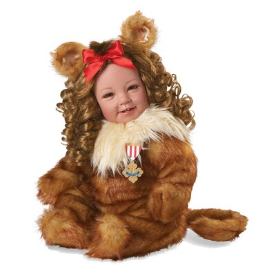 Cowardly Lion Wizard of Oz Play Doll
