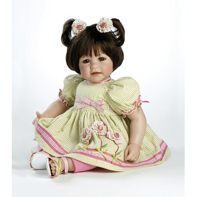 "Adora Dolls Baby Doll ""Flowers For A Friend"" Brown Hair / Brown Eyes"