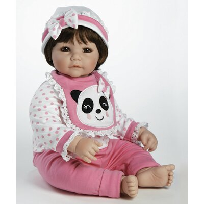 "Adora Dolls Baby Doll ""Panda-riffic"" Brown Hair / Brown Eyes"