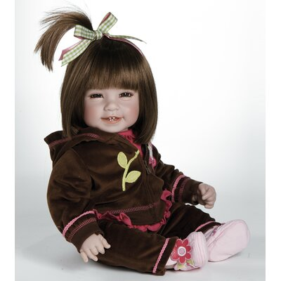 "Adora Dolls Baby Doll ""Workout Chic"" Brown Hair / Brown Eyes"