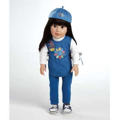Adora Dolls Play Doll Abigail - Girl Scout Daisy Doll and Costume