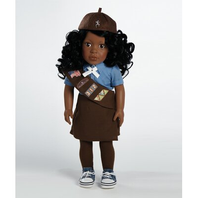 Play Doll Madison - Girl Scout Brownie Doll and Costume