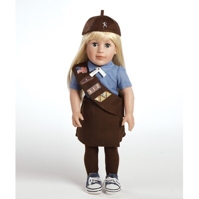 Play Doll Chloe - Girl Scout Brownie Doll and Costume