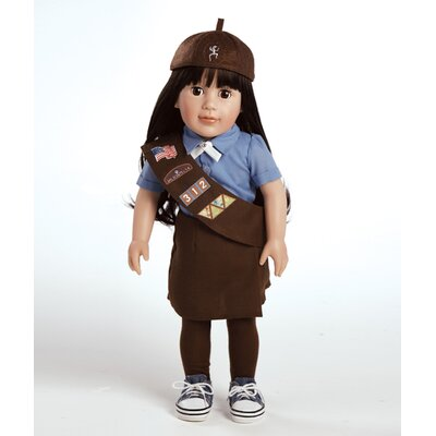 Play Doll Abigail - Girl Scout Brownie Doll and Costume