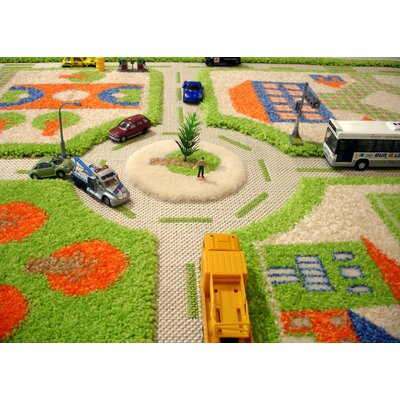 Luca and Company IVI Carpets-Traffic 3D Play Kids Rug