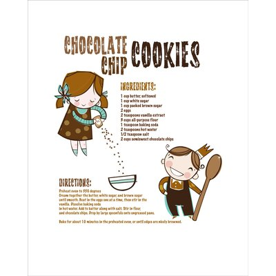 Luca and Company Artwork-Chocolate Chip Cookies