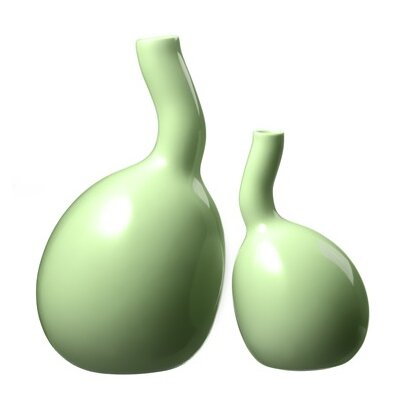 Kähler Bulbino 2 Piece Vase Set