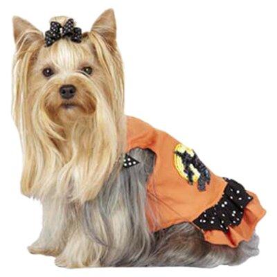 Max's Closet Ruffled Halloween WitchDog Dress