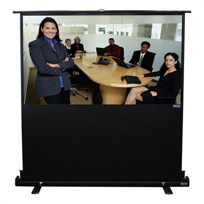 "Vutec Porta-Vu Traveller Matte White 68"" Diagonal Portable Projection Screen"