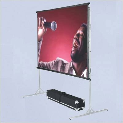 Vutec BriteWhite Porta-Fold Front Projection Complete Screen Kit - 8' 8&quot; x 11' 8&quot; Video Format