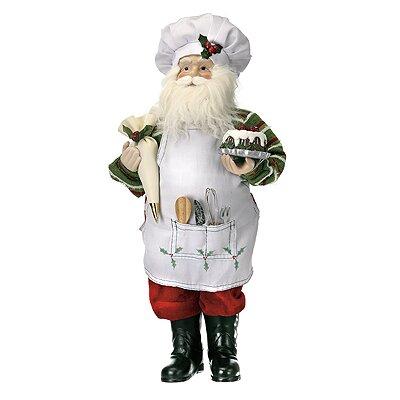 Standing Cooking Santa Figurine Wayfair