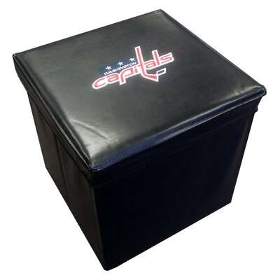 Imperial NHL Leather Cube Ottoman