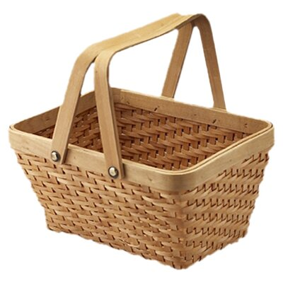 <strong>Quickway Imports</strong> Rectangular Chip Picnic Basket