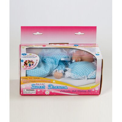Charisma Sweet Dreams Collectible Doll Kit in Blue Yellow Assortment
