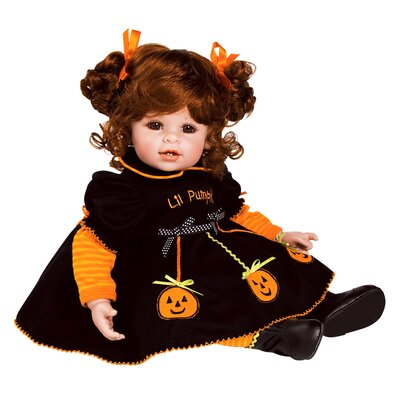 "Charisma Adora ""Jolly Jack-o-Lantern"" Doll with Red Hair / Brown Eyes"