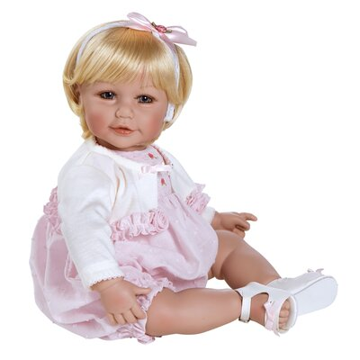 "Charisma Adora ""Rosebud Romper"" Doll with Light Blond Hair / Blue Eyes"