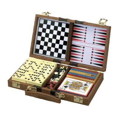 GLD 6-in-1 Wood Game Box
