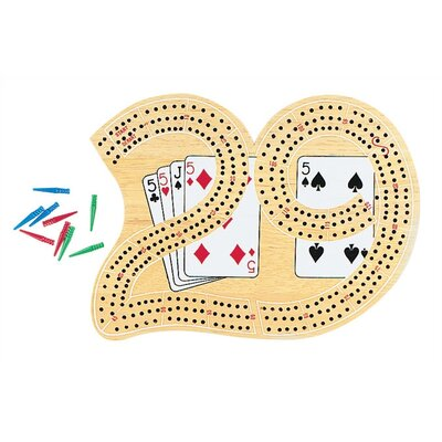 GLD 29 Cribbage Board