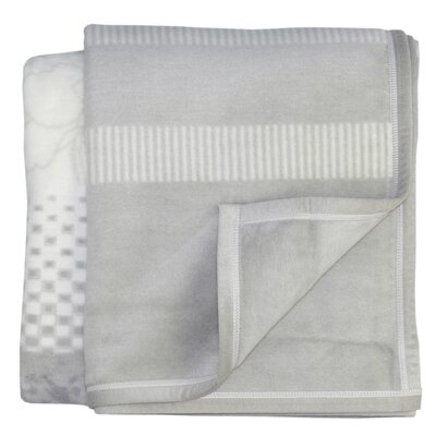 Bocasa Blankets Inspirations Laura Woven Velvet Throw Blanket