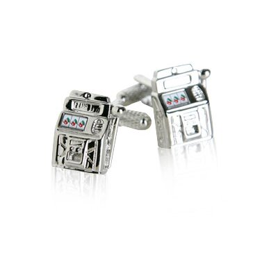 Cuff-Daddy Slot Machine Cufflinks