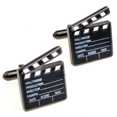Cuff-Daddy Hollywood Clapper Board Cufflinks