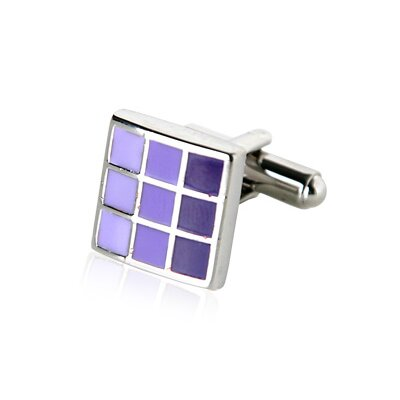 Cuff-Daddy Cufflinks in Purple