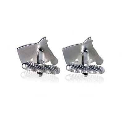 Cuff-Daddy Horse Lover Cufflinks