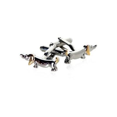 Dachshund Dog Cufflinks