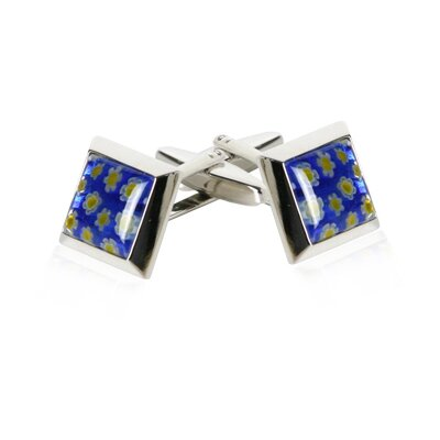 Italian Cufflinks in Blue