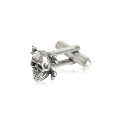 Cuff-Daddy Skull and Crossbone Cufflinks