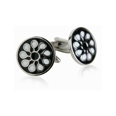 Cuff-Daddy Black Designer Cufflinks