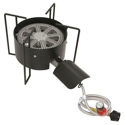 Bayou Classic Banjo Outdoor Stove with Hose Guard