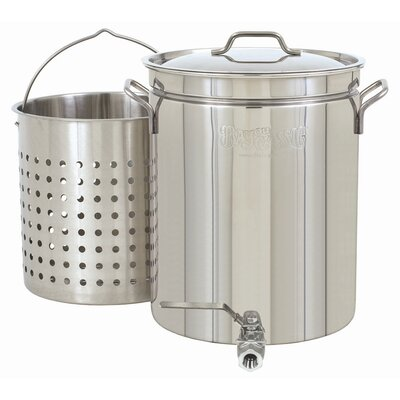 Bayou Classic 40-qt. Stock Pot with Lid and Faucet