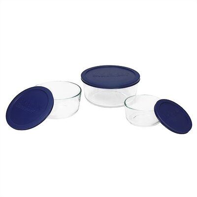 Storage Plus 6 Piece Round Set