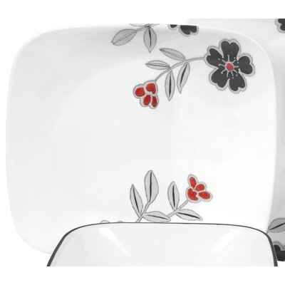 Corelle Square 16 Piece Dinnerware Set