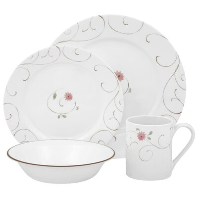 Impressions Enchanted 16 Piece Dinnerware Set