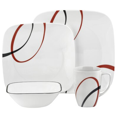 Corelle Fine Lines Dinnerware Collection
