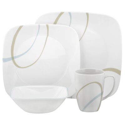Corelle Sand and Sky 16 Piece Dinnerware Set